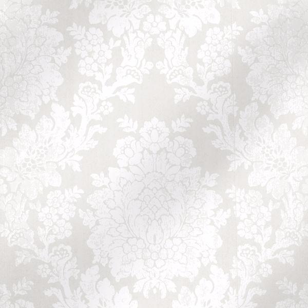 Liza Platinum Roselle Damask