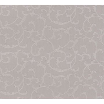 Benedetta Taupe Embossed Scroll