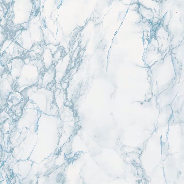 Grey & Blue Marble Adhesive Film