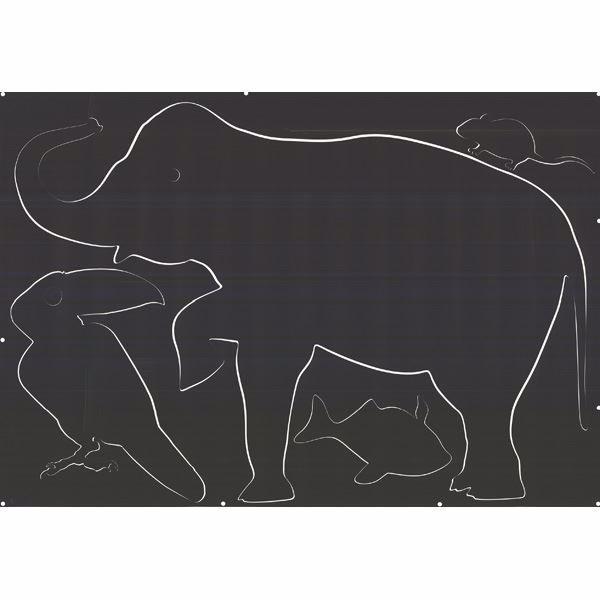 Animal Chalkboard