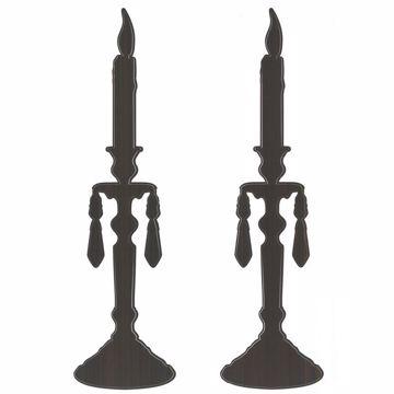 Silhoette Candlesticks