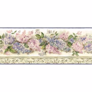 Ethel Cream Heirloom Lilacs Trail Border