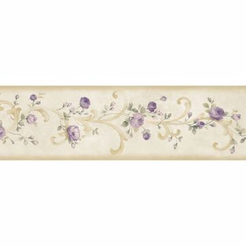 Betsy Cream Tearose Acanthus Trail Border