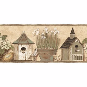 Elvin Wheat Sweet Home Portrait Border
