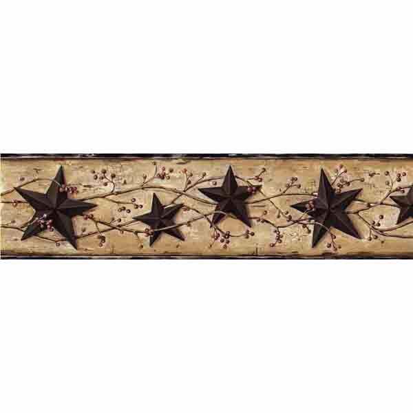 George Sand Tin Star Trail Border