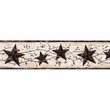 George Cream Tin Star Trail Border