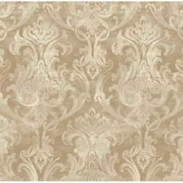 Elsa Bronze Ornate Damask