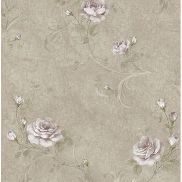 Gracie Metal Floral Scroll