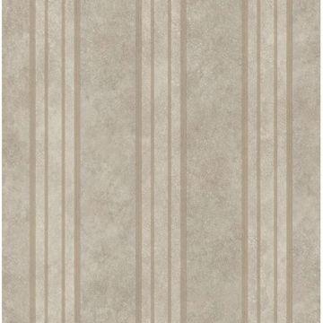 Giovanni Dark Grey Tuscan Alternating Stripe