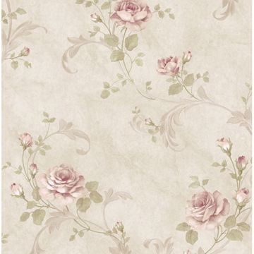 Gracie Stone Floral Scroll