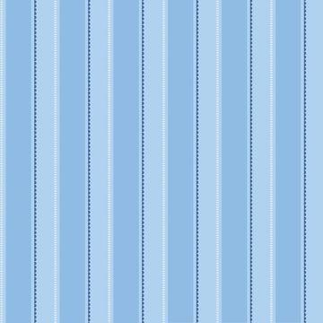 Gatsby Blue City Scape Stripe