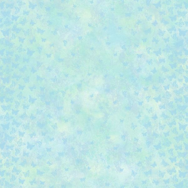 Lucy Blue Butterfly Ombre Column