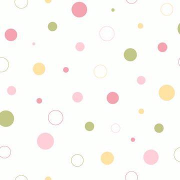 Wobbles Pink Geometric Toss
