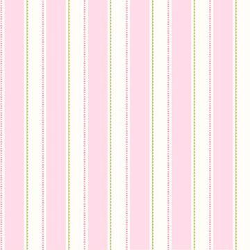 Gatsby Pink City Scape Stripe