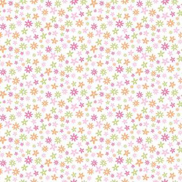Delilah Pink Mod Flower Toss