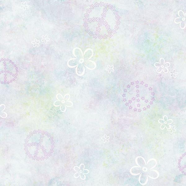 Joplin Purple Peace Flowers Toss