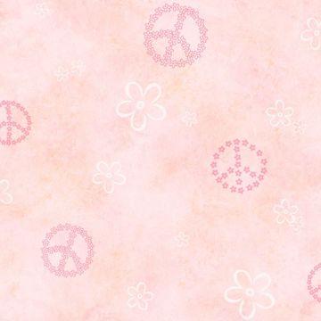 Joplin Pink Peace Flowers Toss