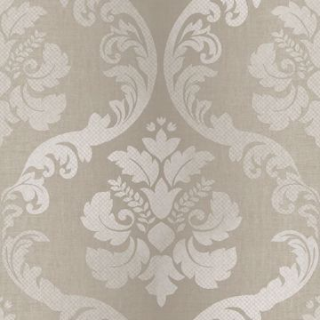 Delilah Wheat Tulip Damask
