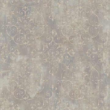 Aubrey Brown Crystal Medallion Texture