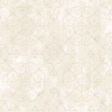 Aubrey Milk Crystal Medallion Texture