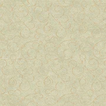 Shin Moss Golden Scroll Texture