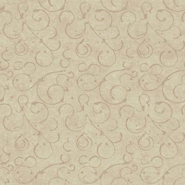 Shin Bronze Golden Scroll Texture