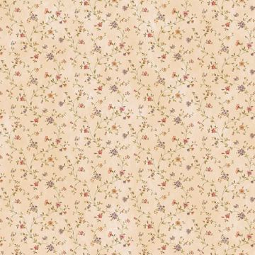 Calico Sand Busy Floral Toss