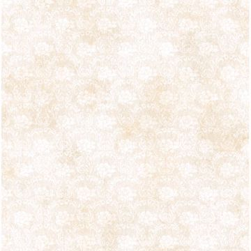 Florra Cream Faux Textured Damask