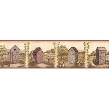 Fredley Red Country Meadow Outhouse Border