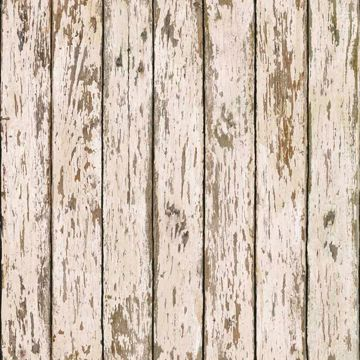 Grendel White Faux Weathered Wood