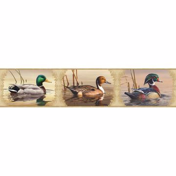 Winnipeg Cream Waterfowl Portrait Border