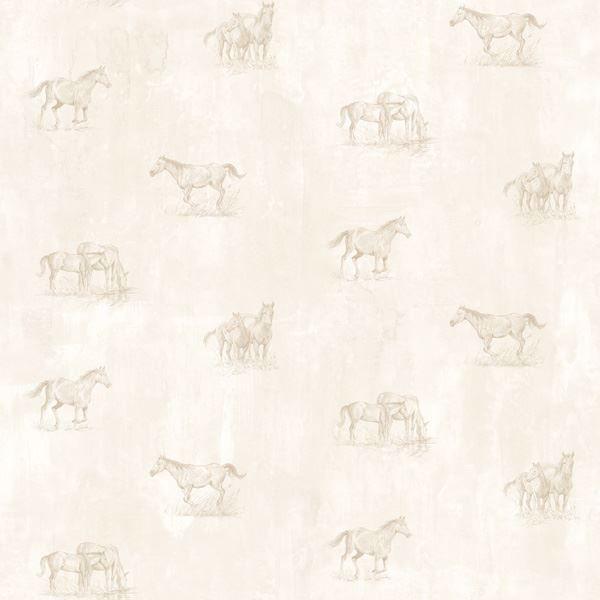 Doodles Grey Horse Sketch Toss