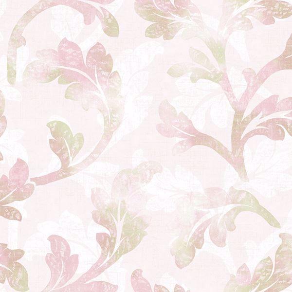 Natalia Pink Curly Scroll