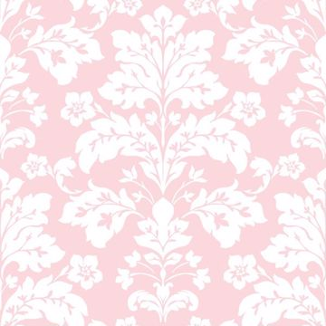 Camila Pink Modern Damask