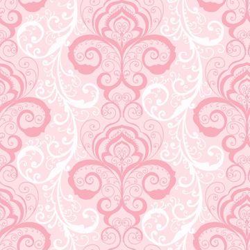 Vanessa Pink Henna Brocade