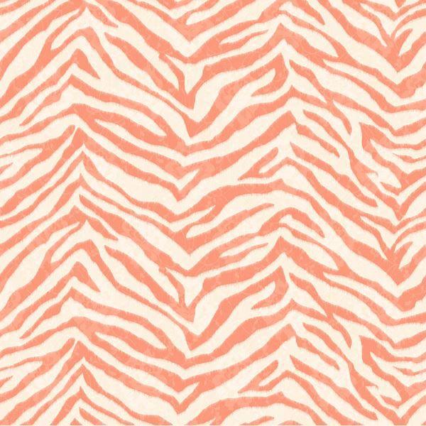 Mia Orange Faux Zebra Stripes