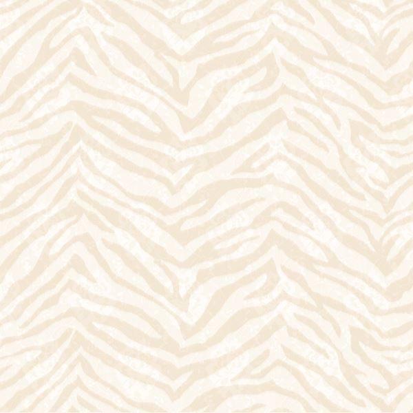 Mia Beige Faux Zebra Stripes