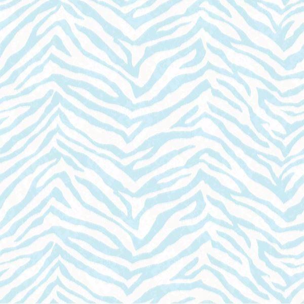 Mia Aqua Faux Zebra Stripes