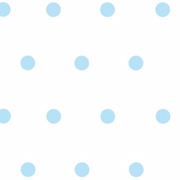 Kenley Aqua Polka Dots