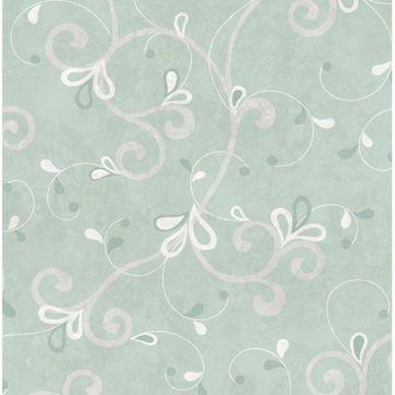 Jada Silver Girly Floral Scroll