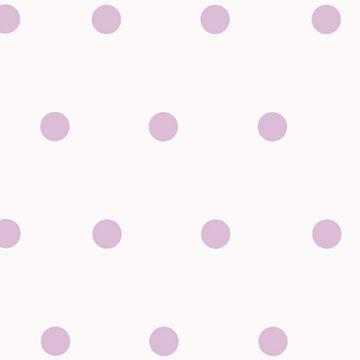 Kenley Purple Polka Dots