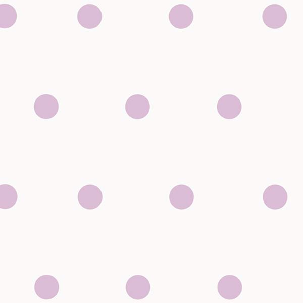 Kenley Purple Polka Dots