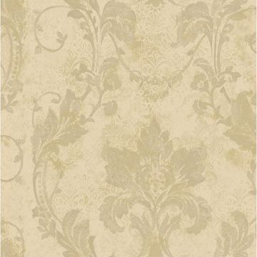 Irena Gold Delicate Damask