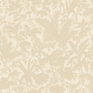 Fauna Beige Silhouette Leaves