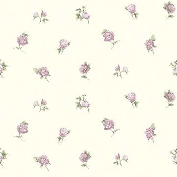 Sandra Purple Floral Toss