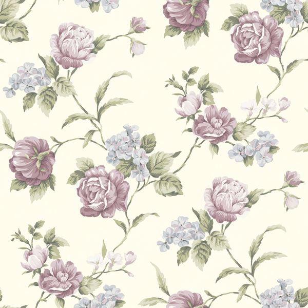 Gleason Purple Floral Rose Trail