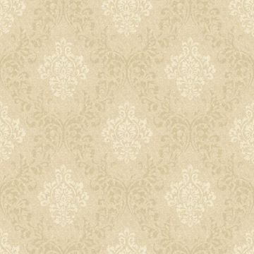 Golden Wheat Damask