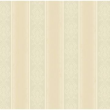 Arabelle Grey Damask Stripe
