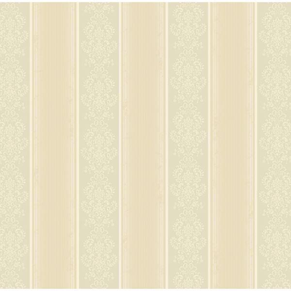 Arabelle Grey Damask Stripe