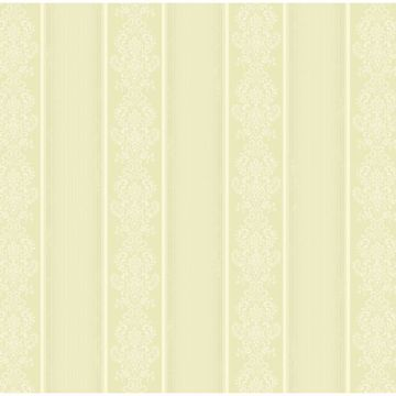 Arabelle Light Green Damask Stripe